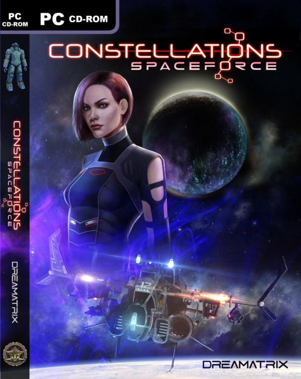 Spaceforce Constellations Front Cover