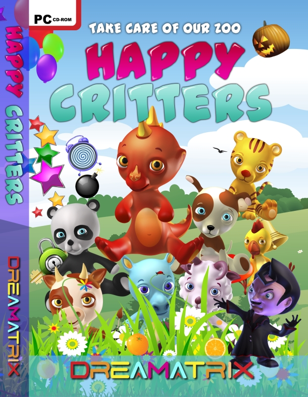 Happy Critters Front Cover