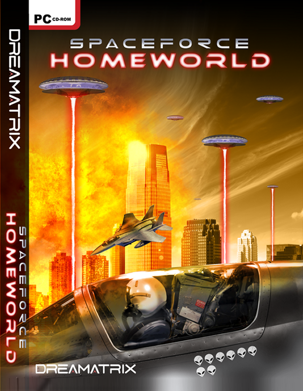 Spaceforce Homeworld Front Cover