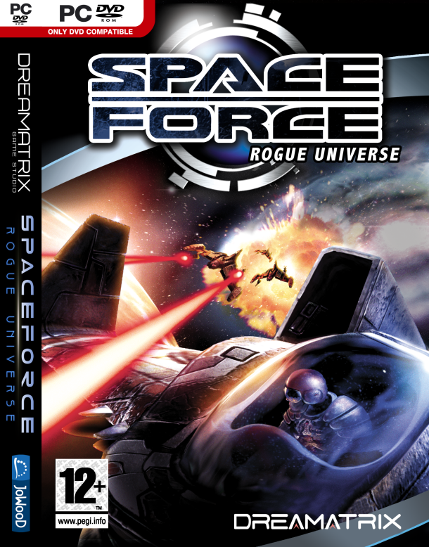 Spaceforce Rogue Universe Front Cover