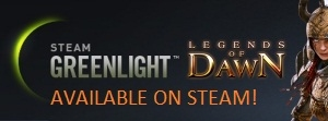 Legends of Dawn on Steam Greenlight